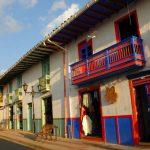 Balcones coloridos de Salento