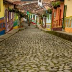 Calles de Zócalos de Guatapé Antioquia