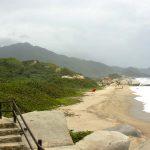 Playas solitarias del Parque Tayrona