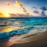 Atardecer en las playas de Aruba