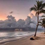 Atardecer-en-playas-de-Punta-Cana