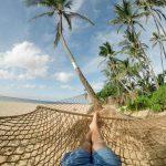 Descansando en las playas de Aruba