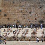 Muro de los lamentos en Israel