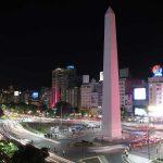 Panorámica del 9 de julio y Obelisco