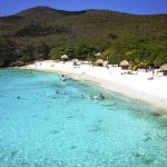 Playa cristalina de Curazao
