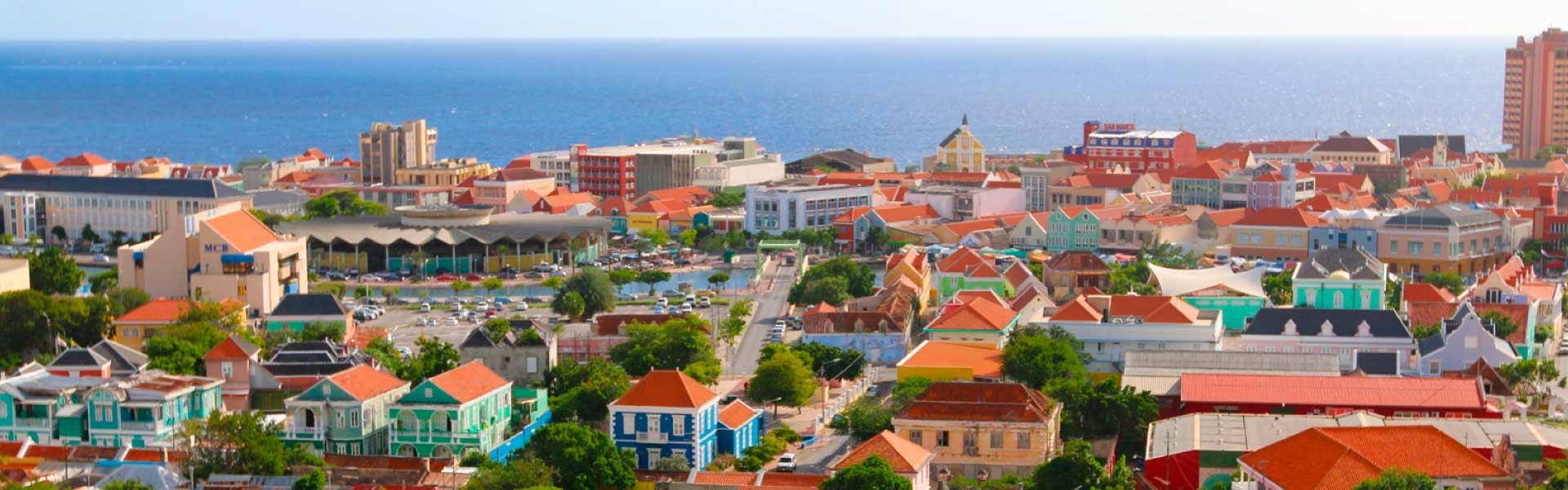 Vista de Oranjestad Aruba