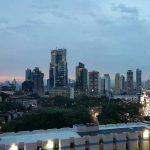 Vista de edificios de Panamá